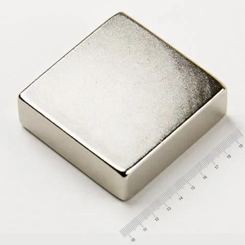 90 x 90 x 30mm Neodymium Block Huge Magnet N45 Ni