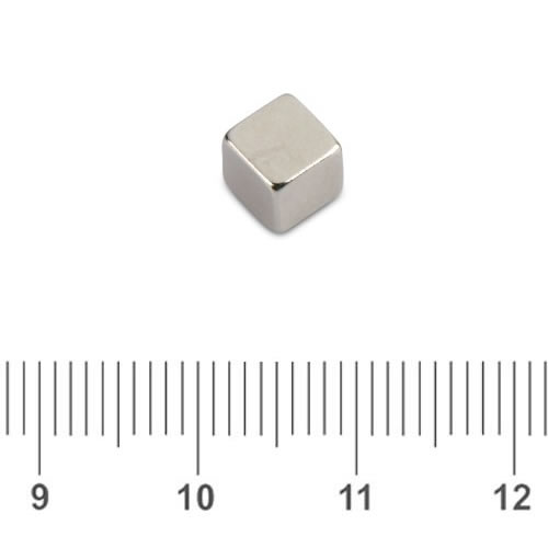 Cube Magnets Use for Home Office N50 5mm
