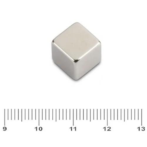 Elegant Permanent Cube Magnet N45 10mm