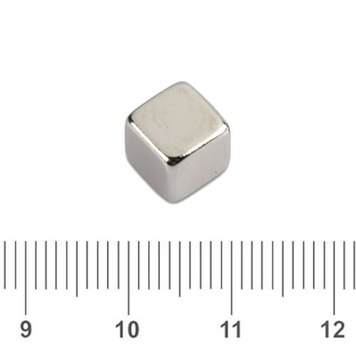 Rare Earth Neodymium Cubical Magnet N50 7mm