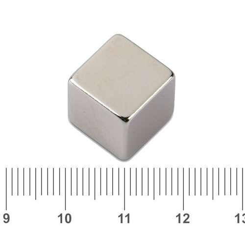 Strong Neodymium Iron Boron Cube Magnet N38 15mm