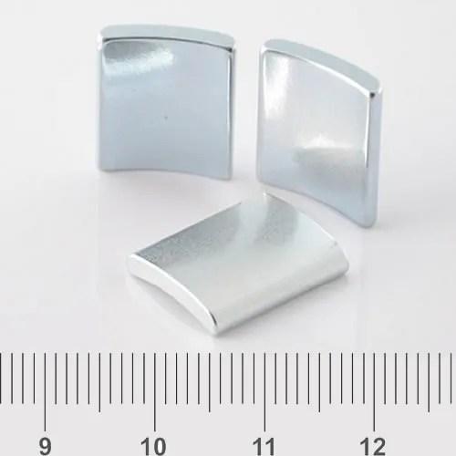 Motor Segment Magnet Zn Plating N50