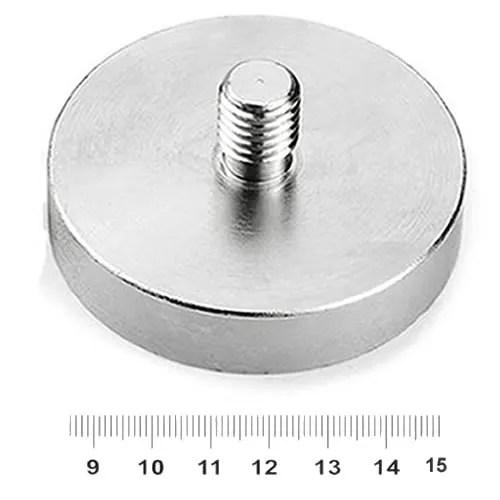 External Threaded Pot Magnet