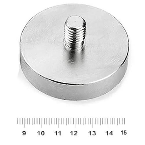Male NdFeB Pot Magnet