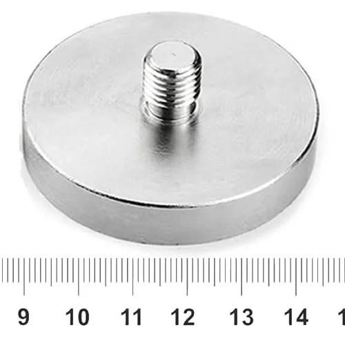 Neodymium Thread Stem Pot Magnet