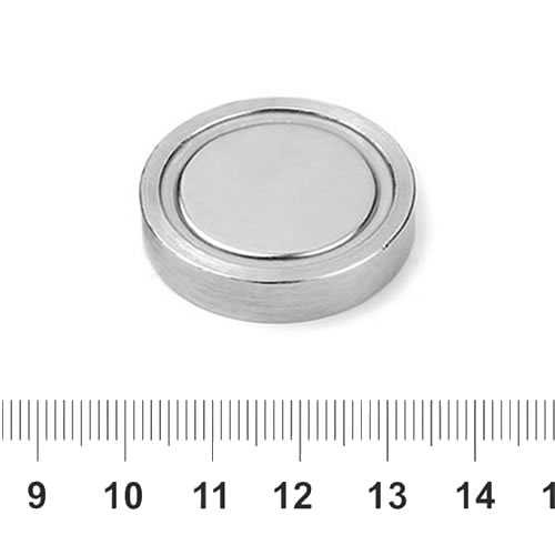 Sintered NdFeB Pot Magnet 32mm