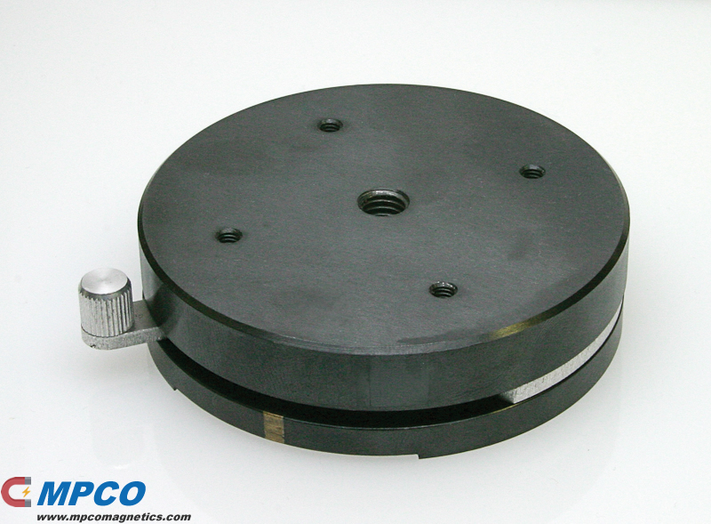 Round Base Magnetic Holding Device