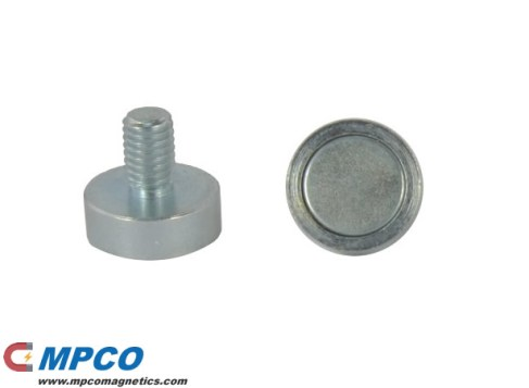Threaded Pin Holding Magnets
