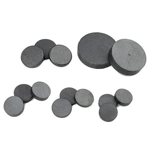 Sintered Ferrite Circular Magnets