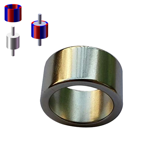 Multipole Neodymium Ring Magnets for Rotor