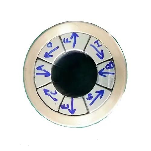 N52 Arc Halbach Array Magnet