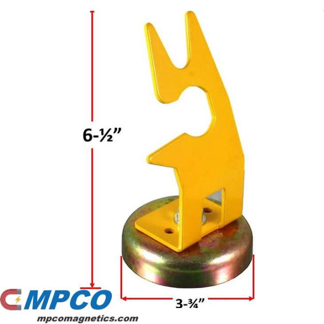 Magnetic Welding Torch Holder Stand Dimension