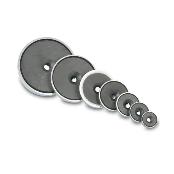 Ferrite Countersunk Pot Magnets
