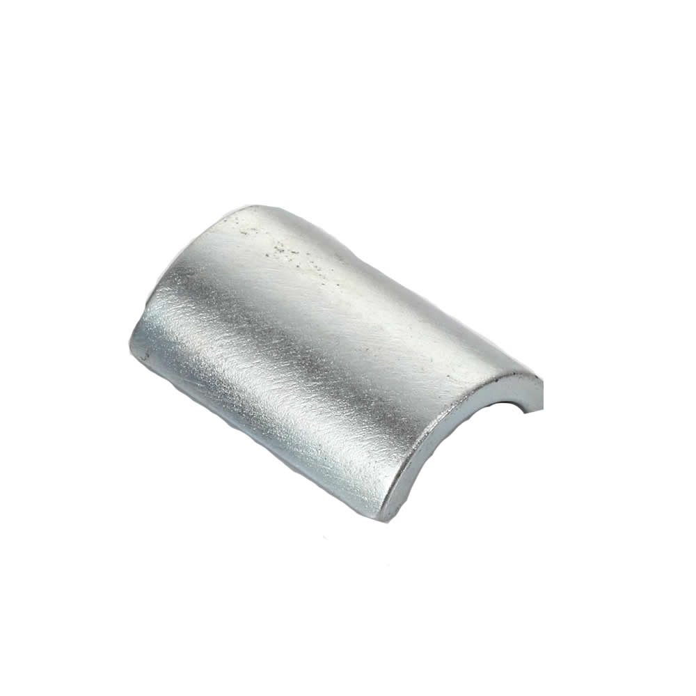 Zinc Plated NdFeB Permanent Type Motor Magnets N42H