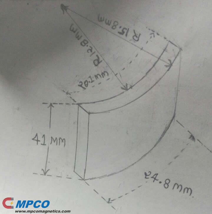 ARC Magnets Manufacturer MPCO Design in China