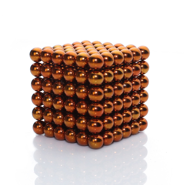 216x5mm Orange Buckyballs Magnetic Building Balls Desktoy