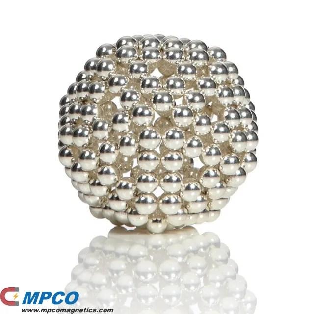 216pcs 5mm Sliver Magic Beads Magnetic Balls - Magnets