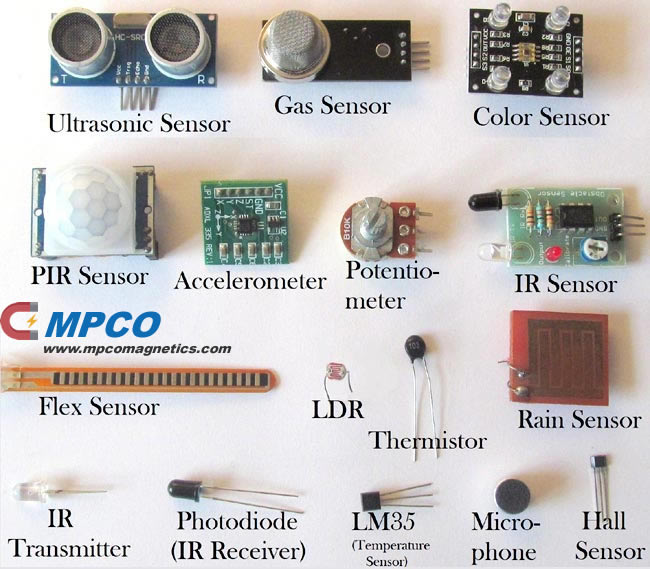 Different Types of Sensors