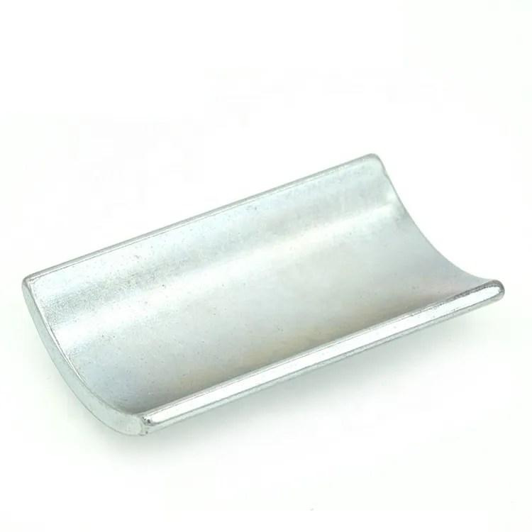 Zinc Coated REE Permanent Magnet N38UH