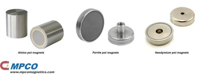 Pot Magnet Assemblies