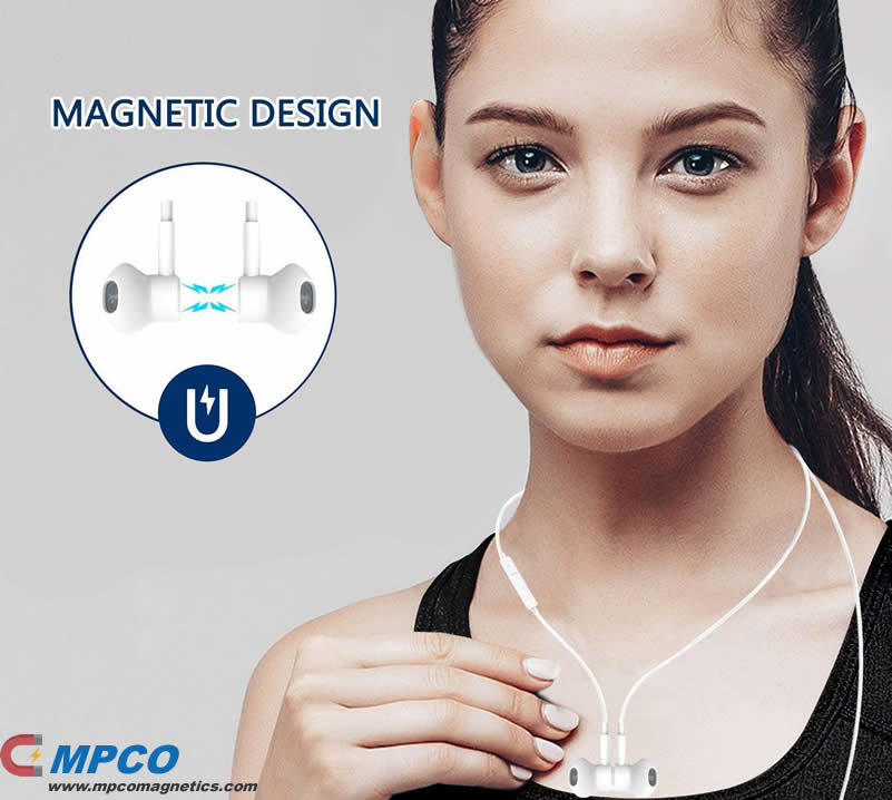 Magnet Bluetooth Wireless Earphones Headphones