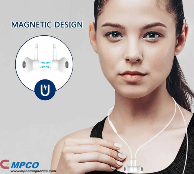 Magnet Bluetooth Wireless Earphones Headphones