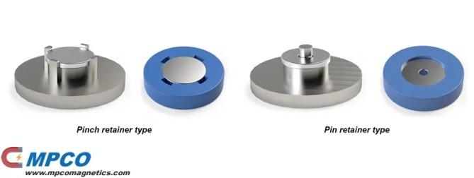 insert molding plastic integrated magnet
