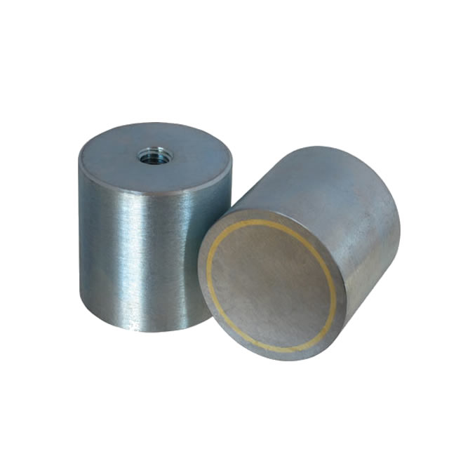 Alnico Deep Pot Holding System Zinc Plated Body with Threaded