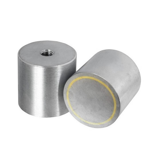 Internal Threaded AlNiCo Mounting Pot Magnet Steel Body