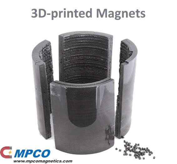 3D-printed Magnets