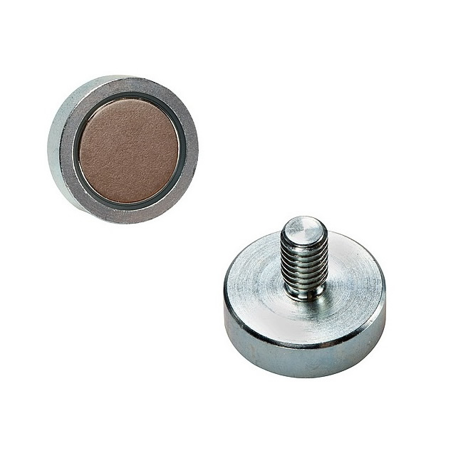 SmCo Holding Magnet Pot with External Thread