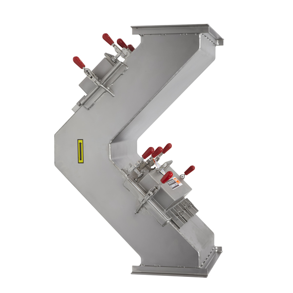 90° Elbow Magnetic Separators Hump