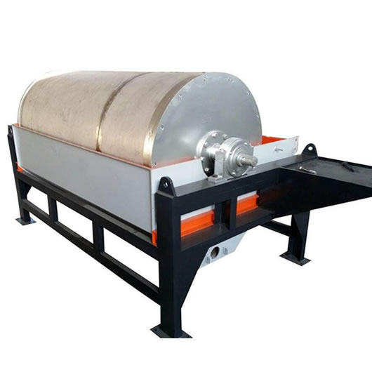 Low-intensity Wet Drum Magnetic Separator