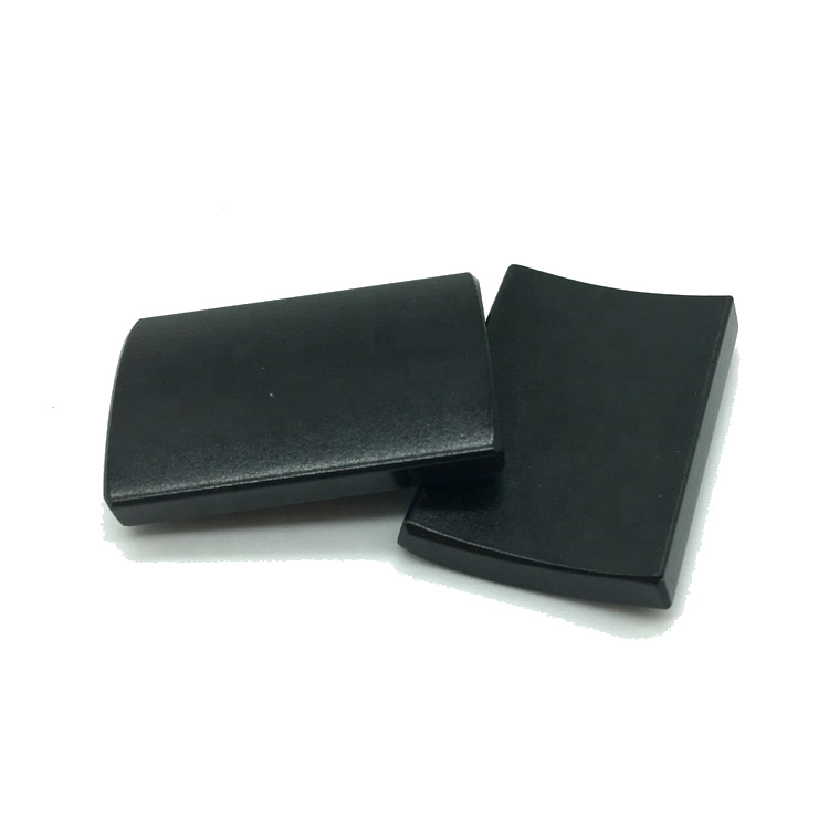 N48SH Epoxy Plated Neodymium Segment Magnets for Motor