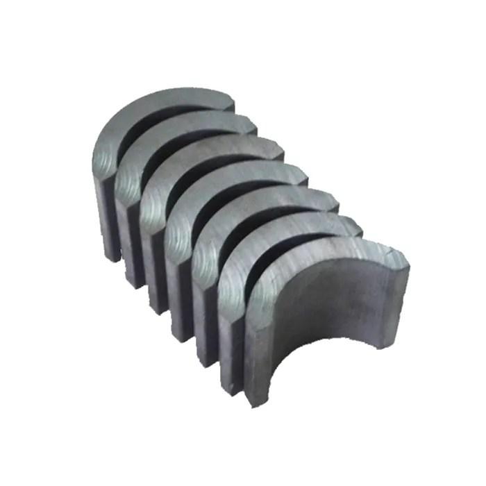Customizable Small Ceramic Arc Magnets