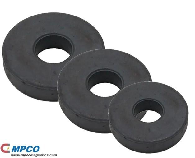 DC Motor Ceramic ring magnets