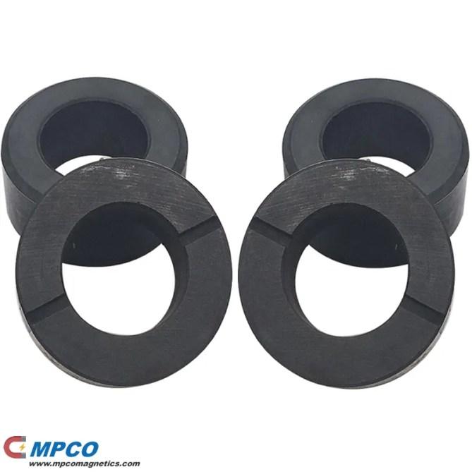 Hard Ferrite Radial Magnetized Magnetic Rings