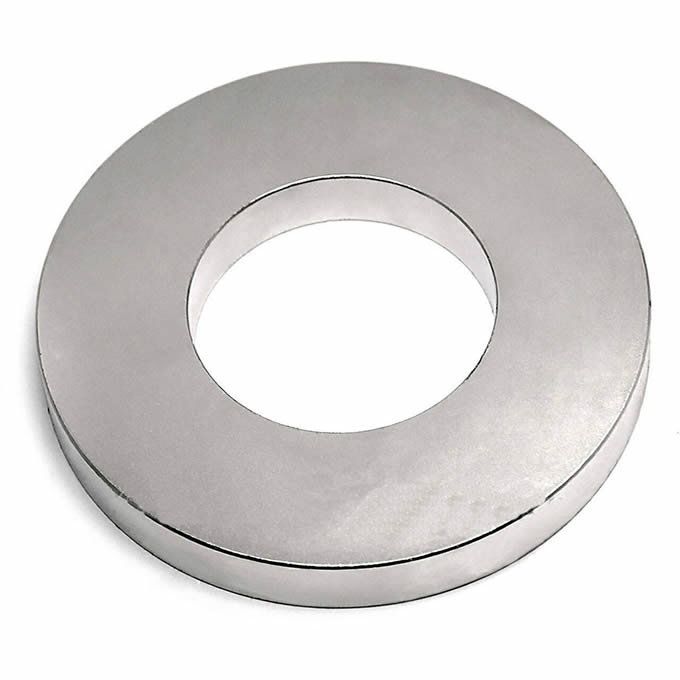 N45 Sintered NdFeB Rare Earth Anisotropic Ring Magnet