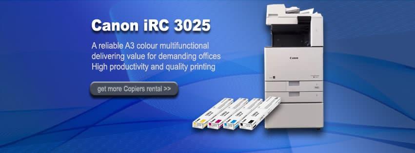 Canon iRC 3025 fotocopy warna terbaru