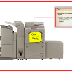 Cara Mengatasi Error Fotocopy Canon