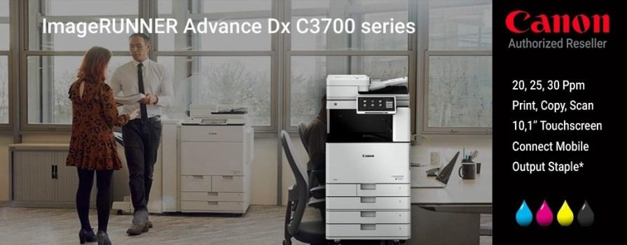 Canon meluncurkan IRADVANCE DX C3700 series