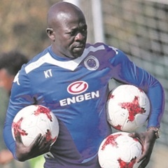SuperSport United Head Coach, Kaitano Tembo