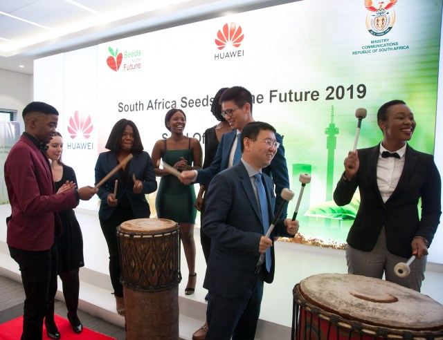 Drum Cafe Student send off at Huawei Technology