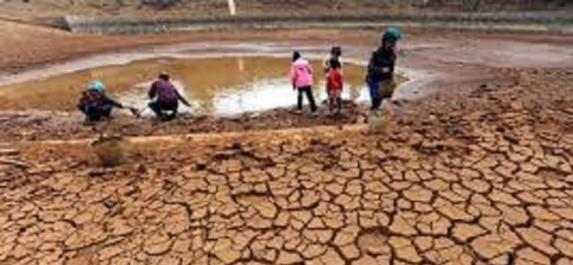 Drought severely hits southern Africa