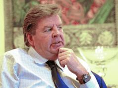 South Africa's second richest man, Mr. Johann Rupert