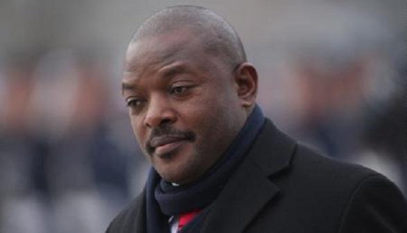Former Burundi president Nkurunzinza