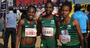 Young ladies that participated in the Spar Women's marathon