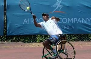 Tennis South Africa (TSA) Wheelchair Tennis Development Officer, Patrick Selepe