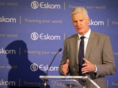 Eskom Chief Executive Officer, André de Ruyter