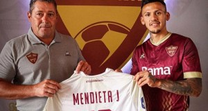 Argentinian winger, Júnior Leandro Mendieta, signs for Stellenbosch FC